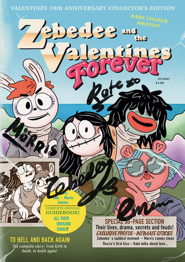 Zebedee And The Valentines by Abs Bailey