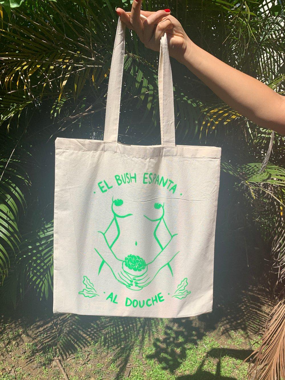 Image of Bushy tote bags