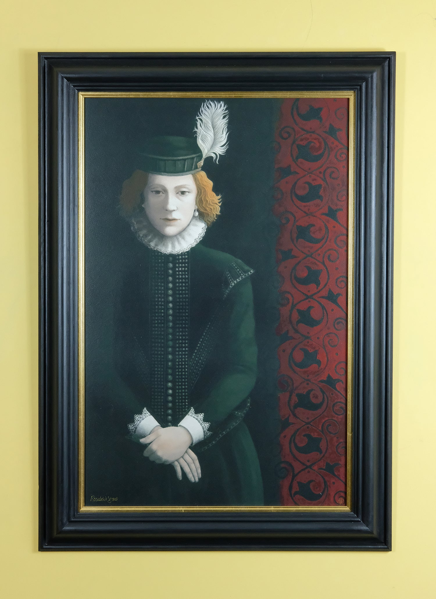 Image of ROSALIND LYONS - 'I PRAY THEE, CONCEAL ME WHAT I AM' - LIMITED EDITION FINE ART PRINT