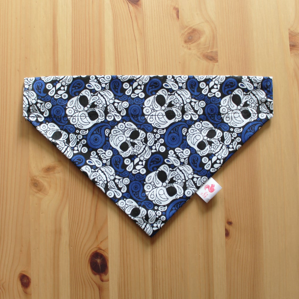 Image of Skulls dog & cat bandana