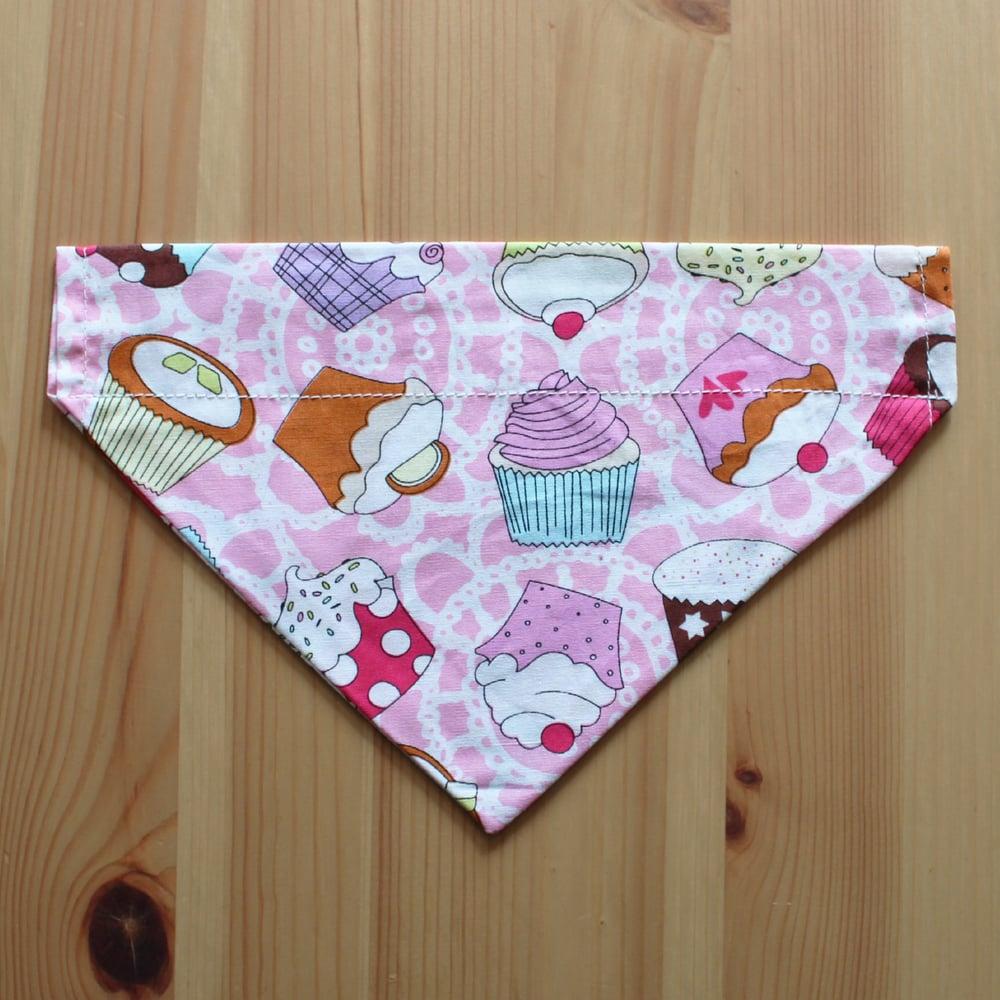 Image of Cupcake dog & cat bandana