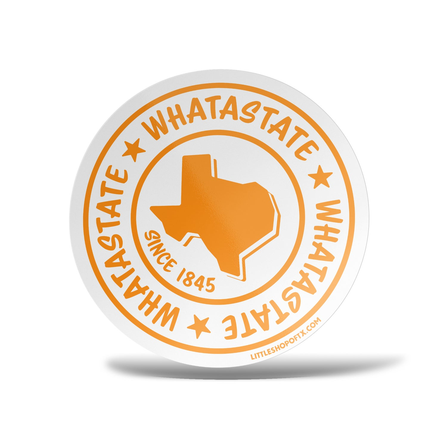 Image of Whatastate Sticker