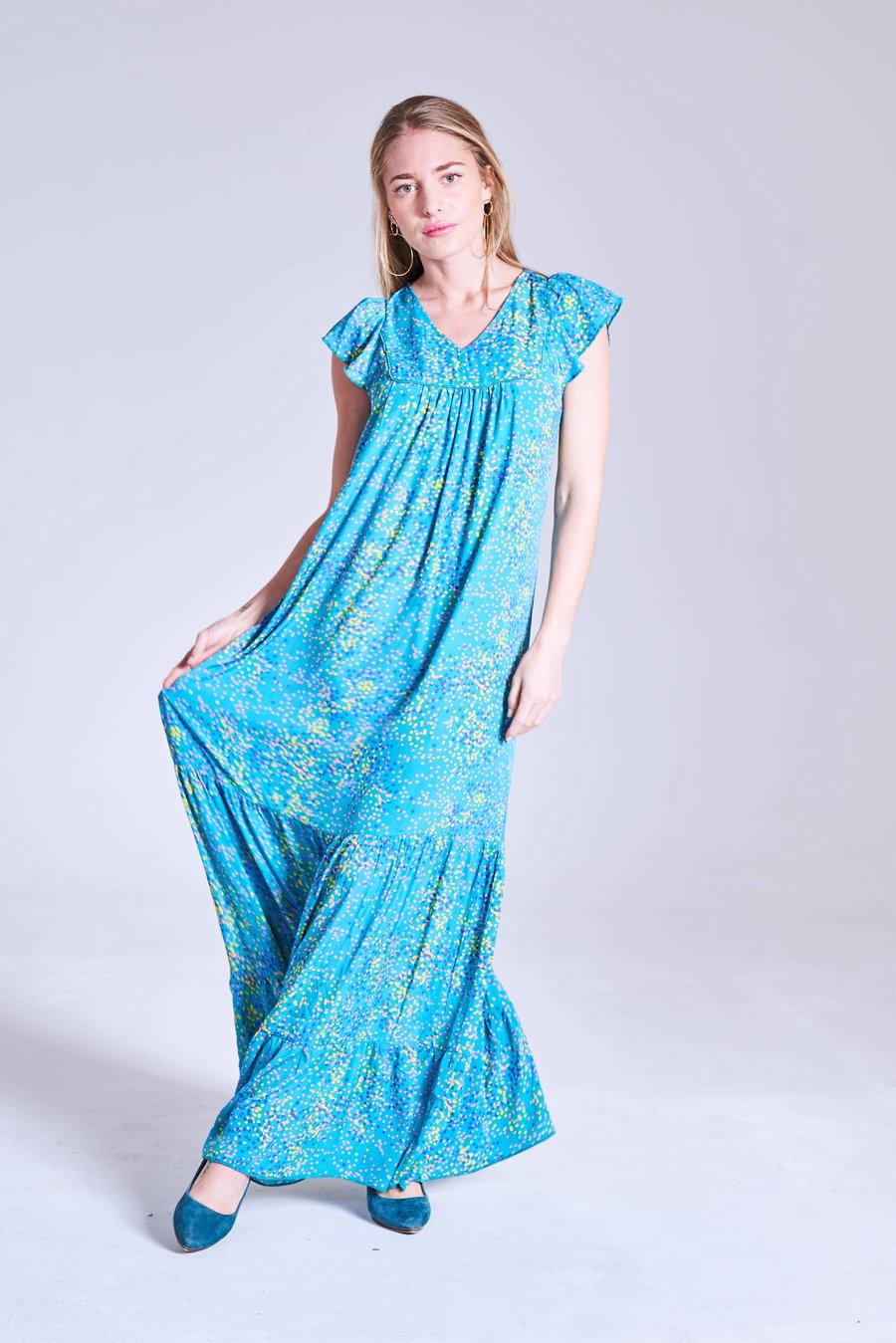 Image of Vestido Mujeres Turquesa