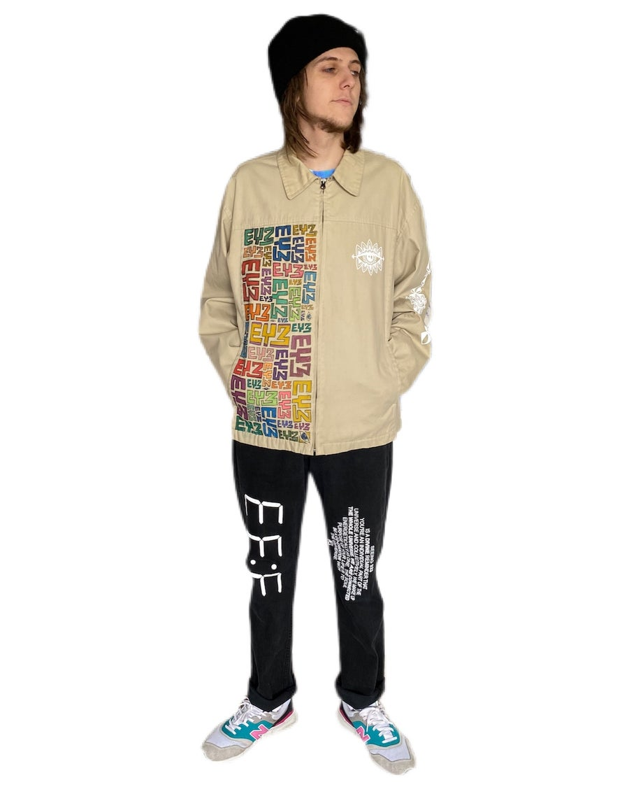 "Image of ""Duality"" Zip Up Jacket"