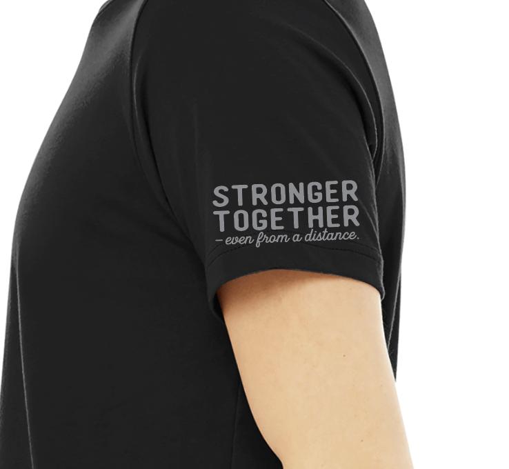 """UpStART BeSmART """"Stronger Together"""" Tee"""