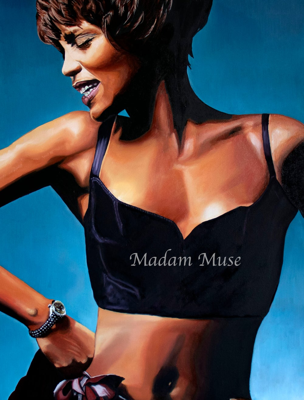 "Image of ""Whitney 'Nippy' Houston"" Limited Edition Prints"
