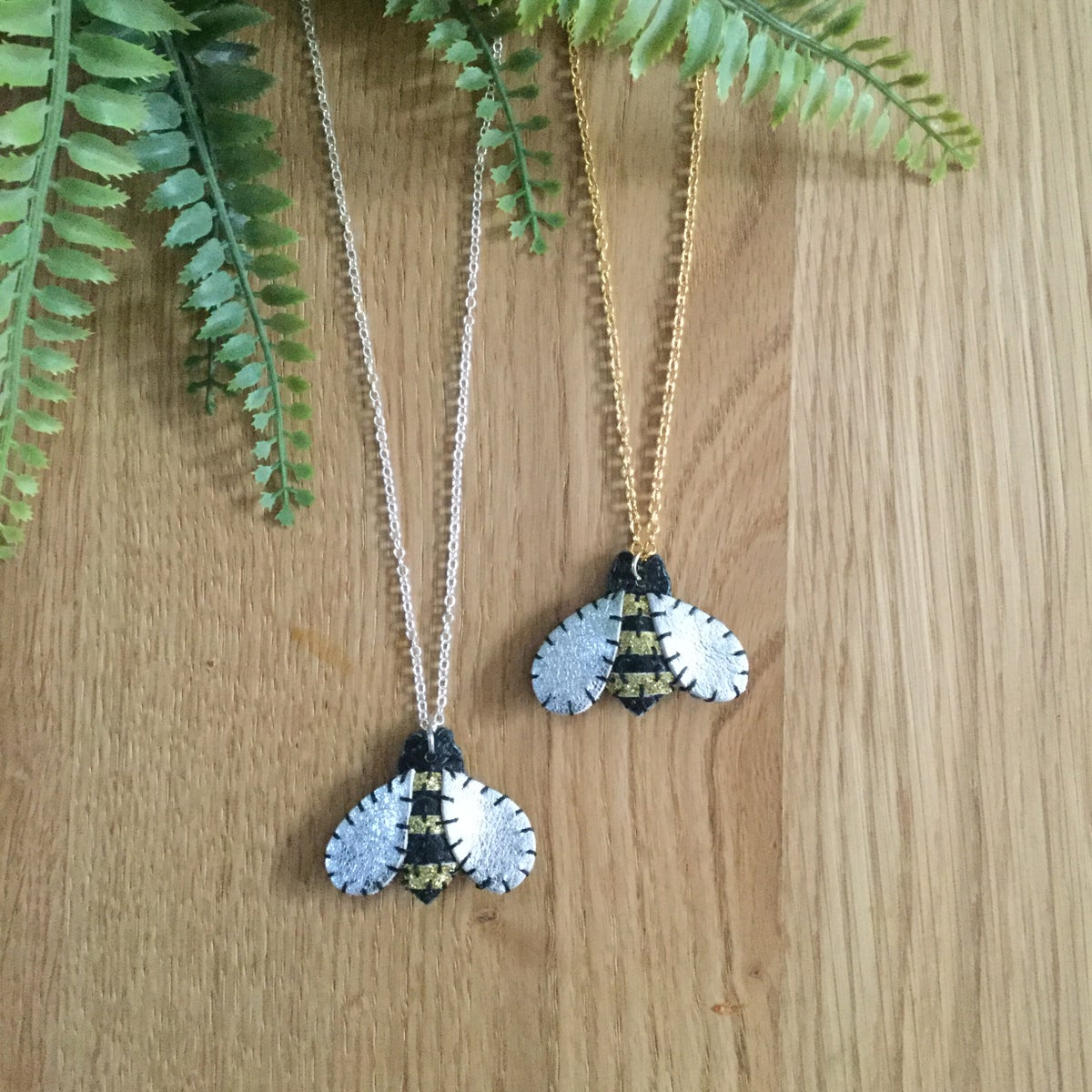 Image of Baby Bumble Bee Necklace