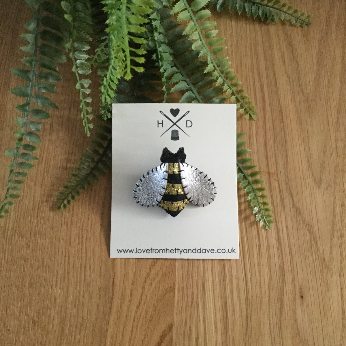 Image of Bumble Bee Brooch