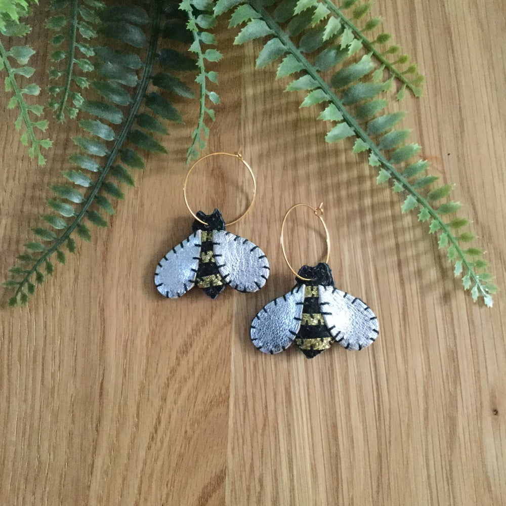 Image of Bumble Bee Earrings