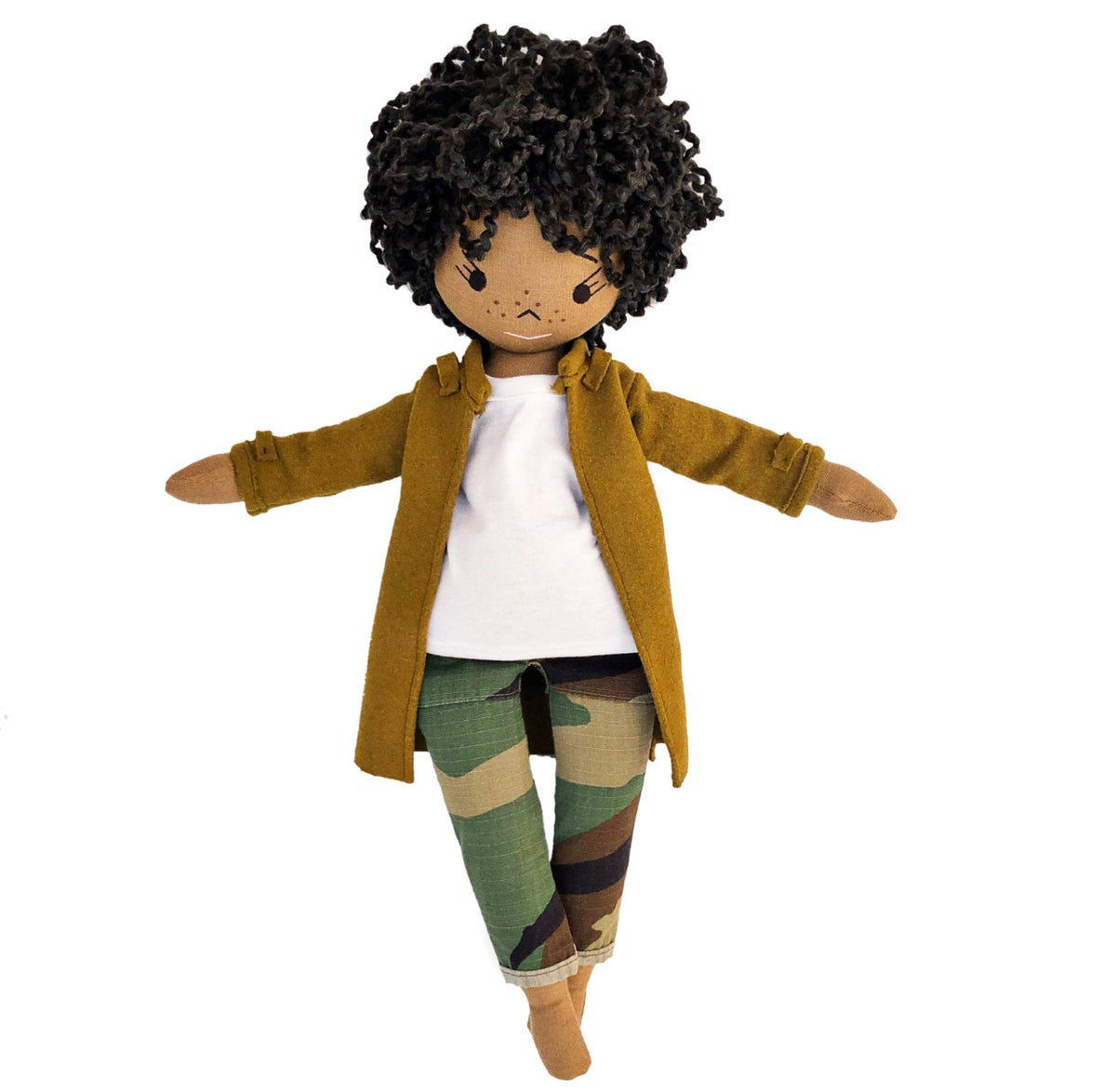 Leila Handmade More to Love Doll (PLEASE NOTE: THIS ITEM WILL SHIP IN 30 - 45 BUSINESS DAYS).