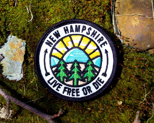 Image of NH Wanderer Embroidered Patch