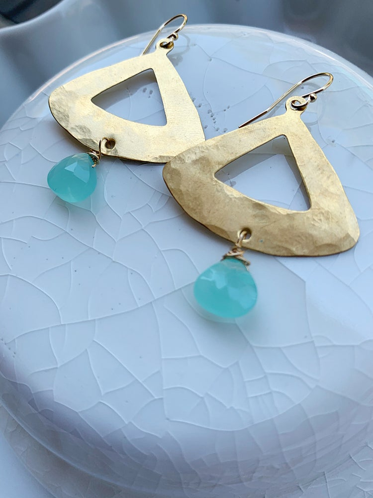 Image of Touch of Blue Earrings