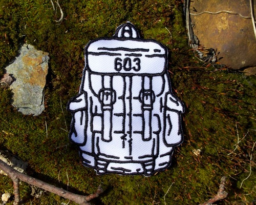 Image of 603 Hiking Backpack Embroidered Patch