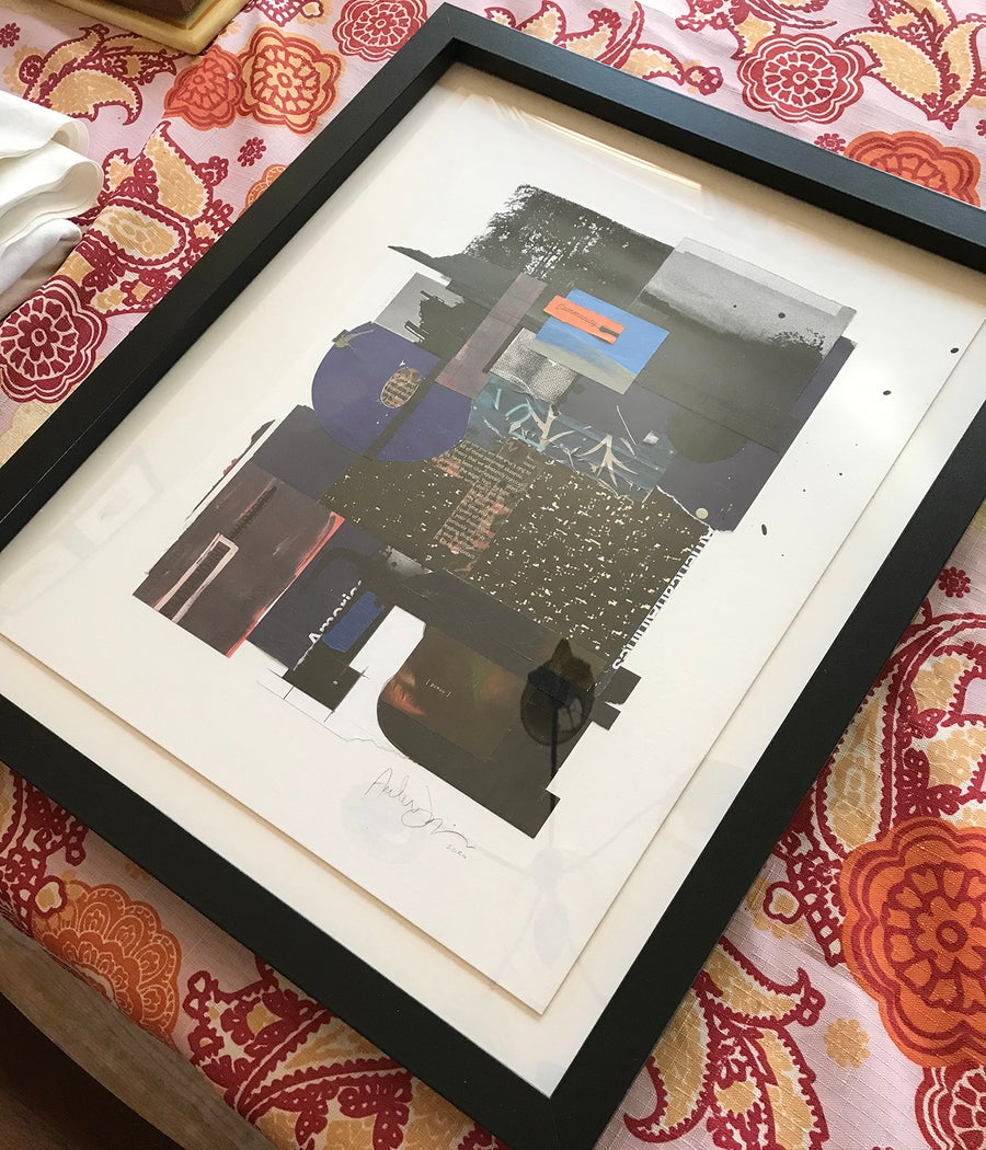 "Image of ""PIECEMEAL"" framed"