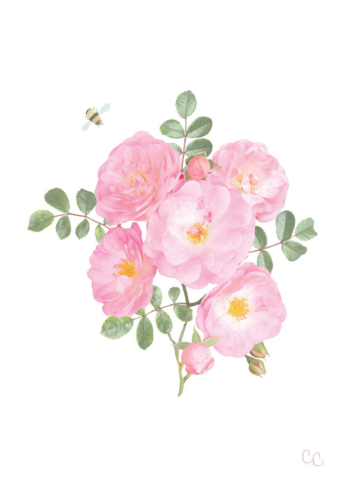 Image of Little Roses Print