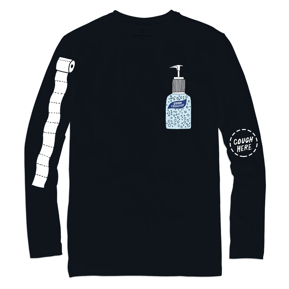 Union Transfer COVID-19 Relief Shirt (Long Sleeve)