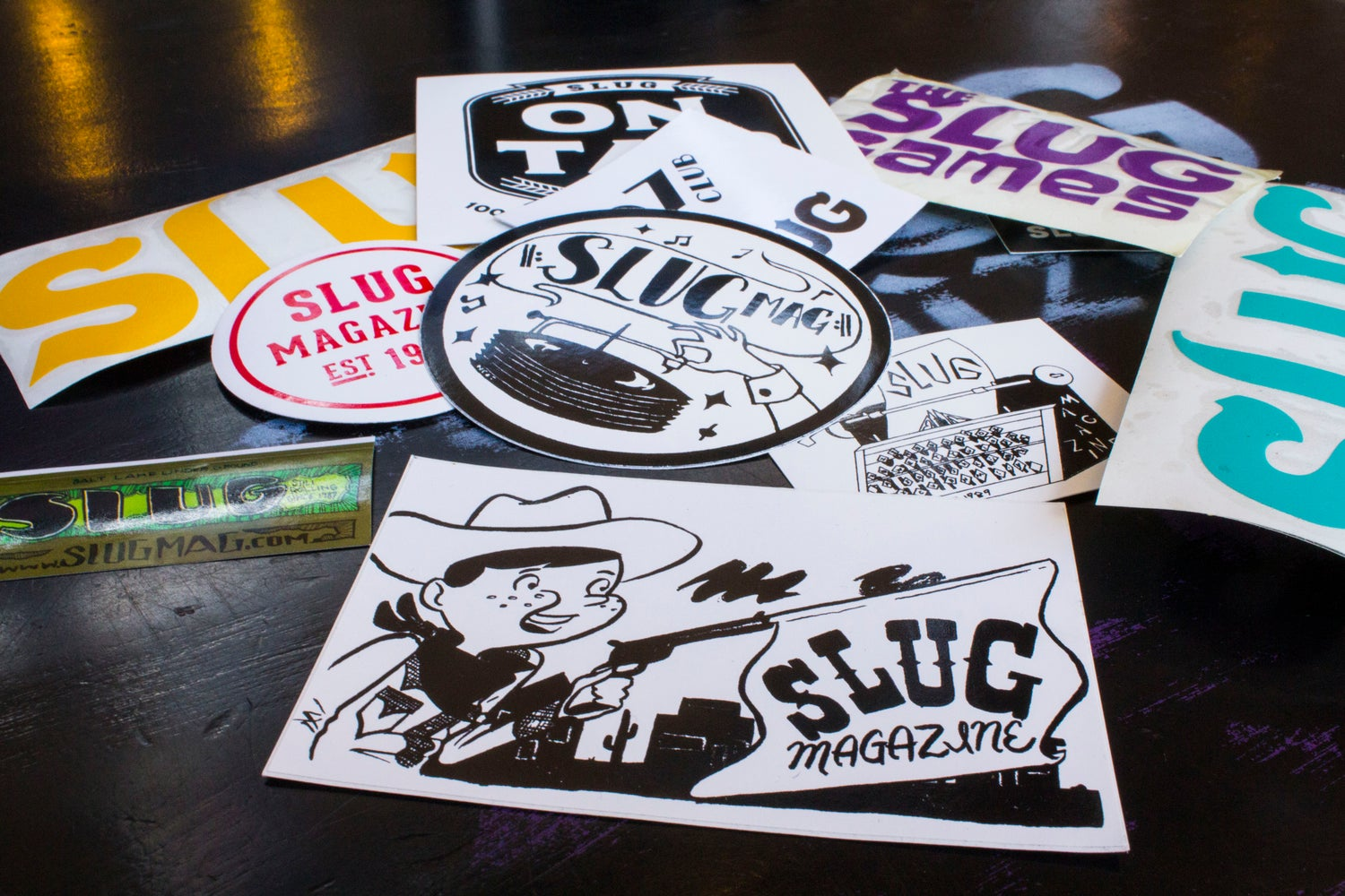 SLUG Mag Sticker FREE with purchase!