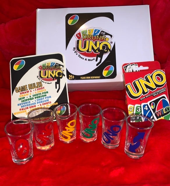 Image of Drunk Uno Game Set