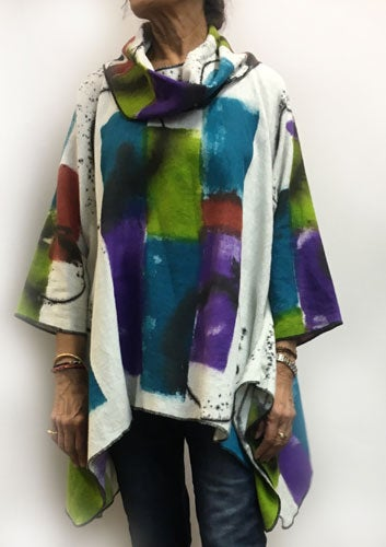 Image of Joy Tunic - Ibiza Design - hand painted - eco-friendly