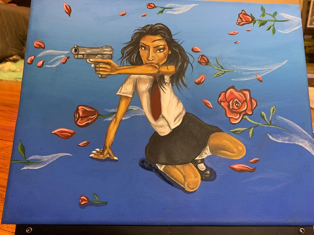 "Image of ""Speeding petal"""