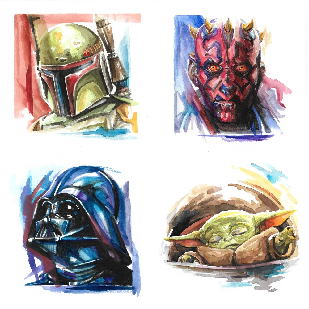 Image of Star Wars - Watercolor Prints