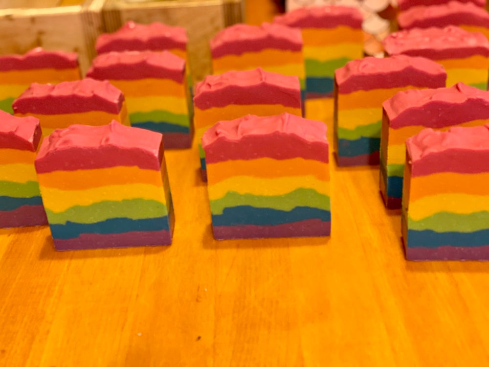 Image of Rainbow Layer Cake