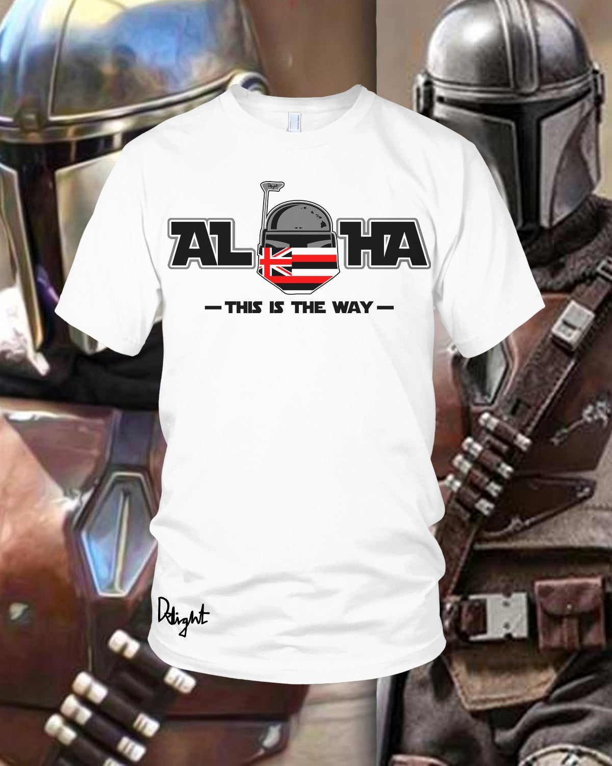 (Adults & Kids Sizes) Aloha - This is the Way Tee (White)