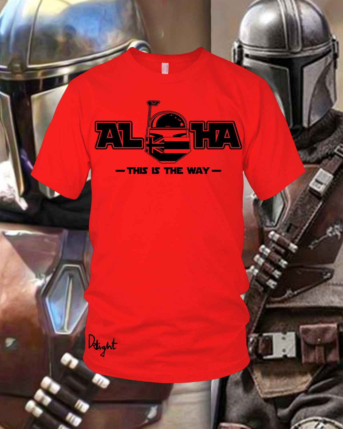 Aloha - This is the Way Tee (Red)