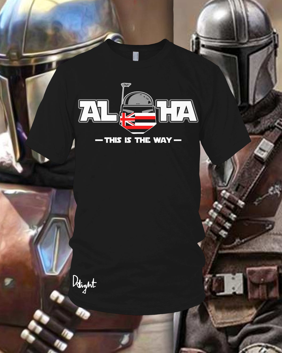 (Adults & Kids Sizes) Aloha - This is the Way Tee (Black)