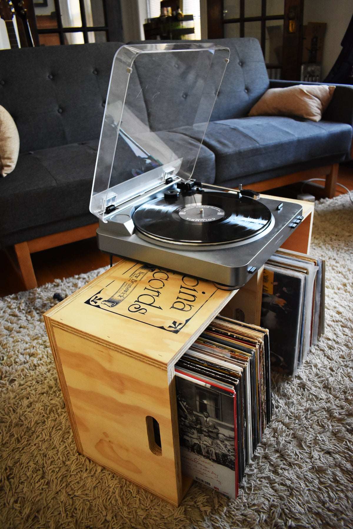 Spina Records Crate