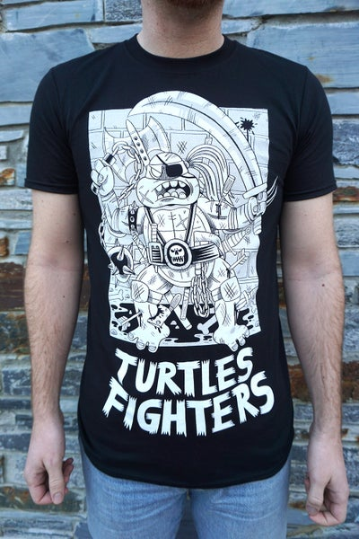 Image of Turtles Fighters - T-shirt