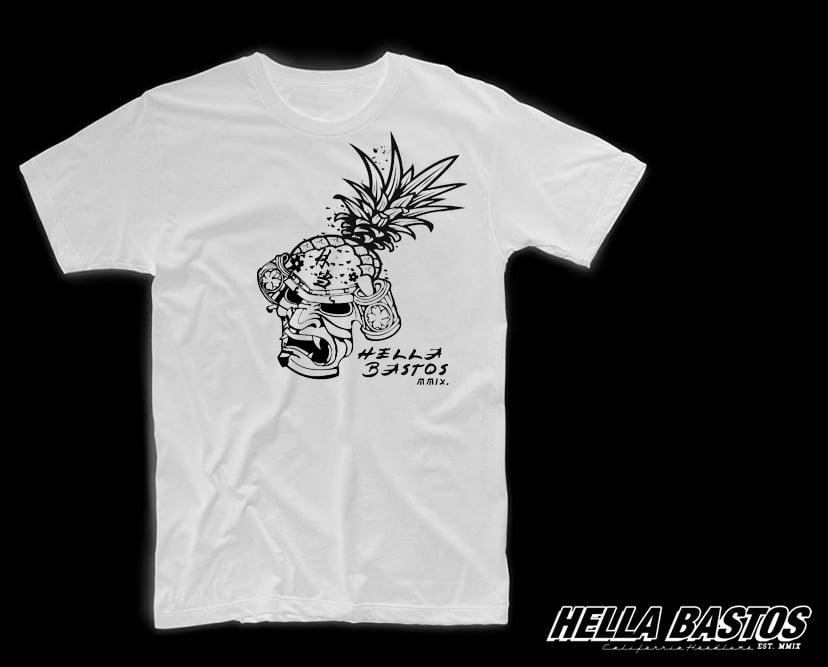 Image of HB Pinemask MMXX Tee (White)