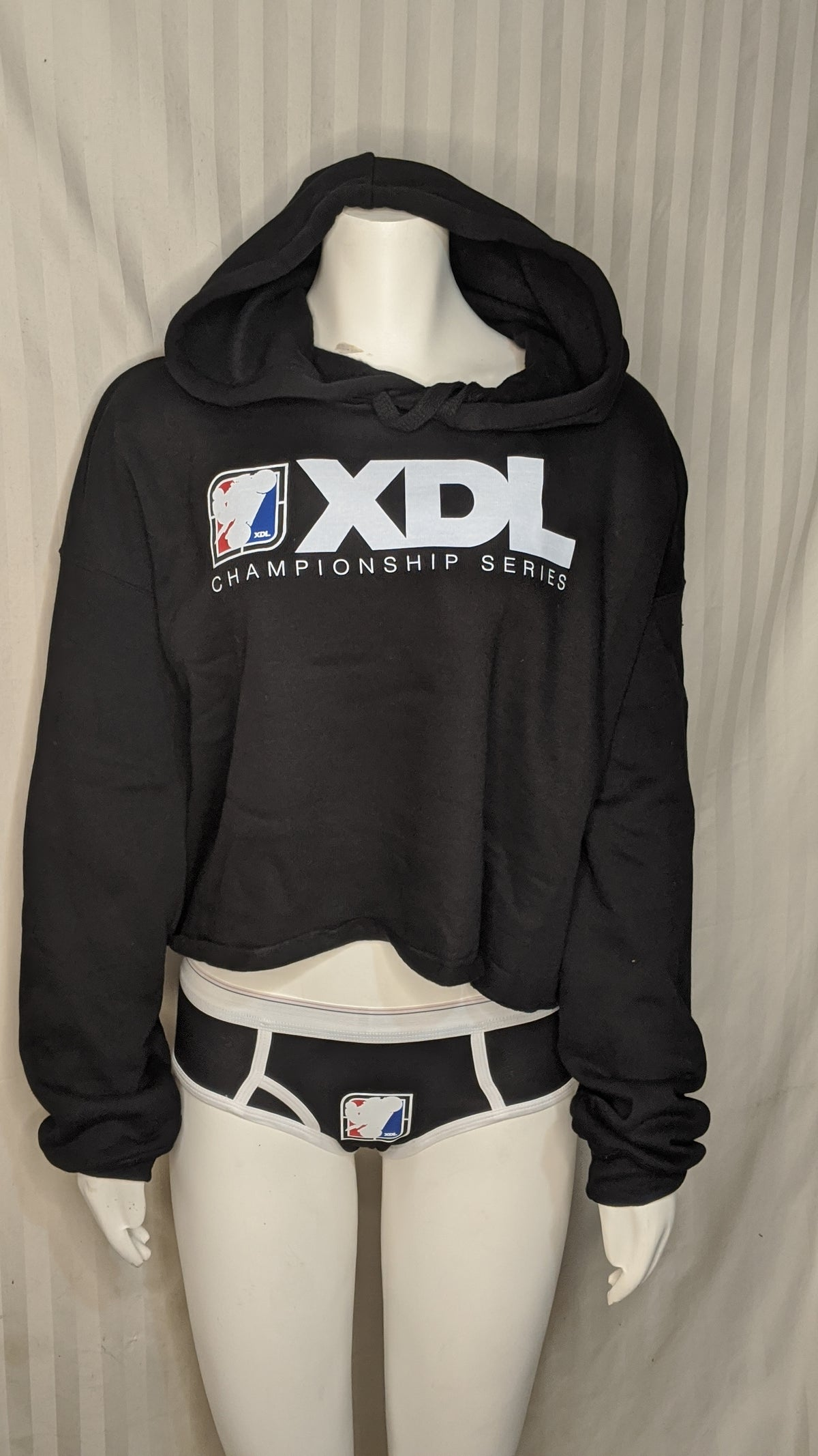 Image of XDL women's Crop Hoodie
