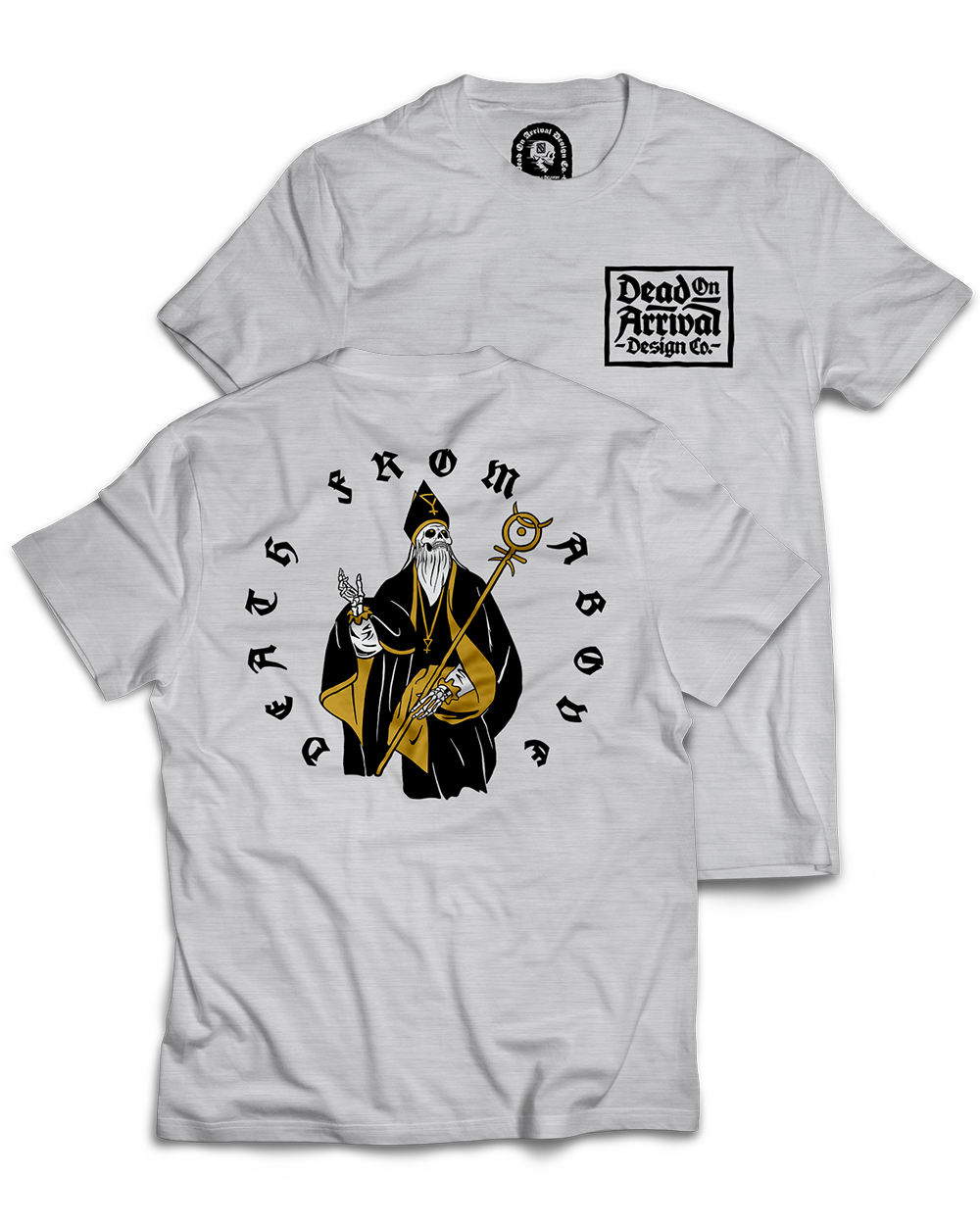 """""""Death From Above"""" / Graphic Tee, Sport Grey"""