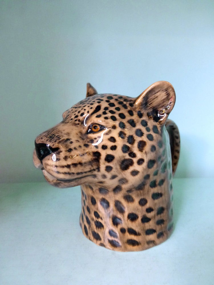 Image of Leopard Jug