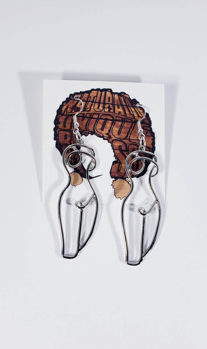 Image of Woman Physique Earrings