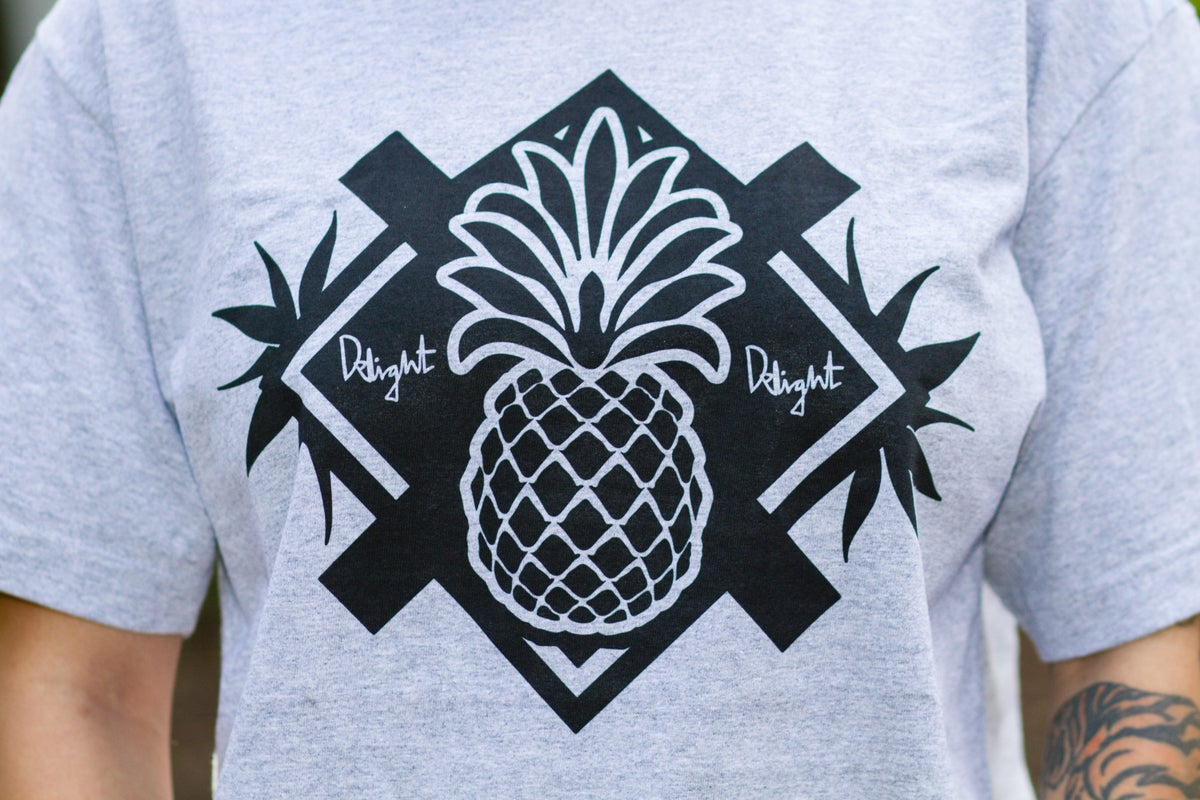 Pineapple Paradise (Athletic Grey/Black)