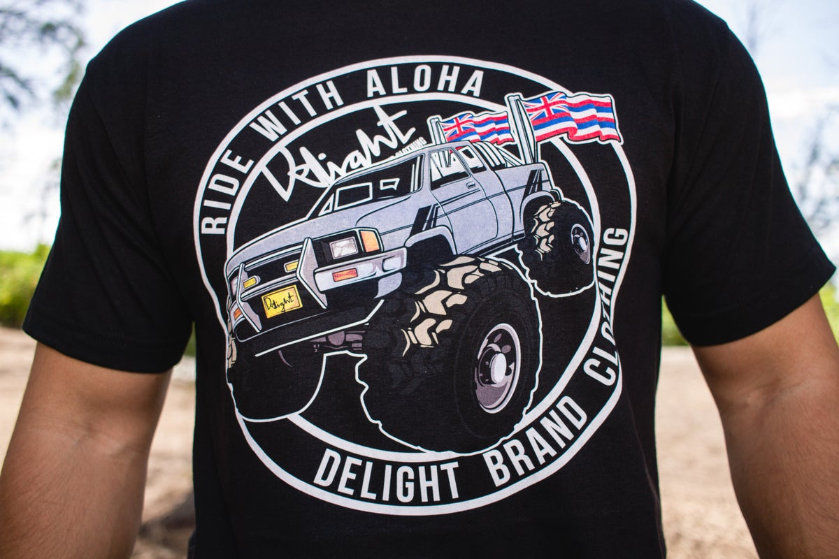 Ride with Aloha Tee