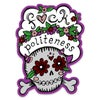 F*ck Politeness Skull Diecut Color Vinyl Sticker