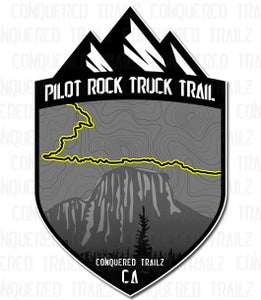 """Image of """"Pilot Rock Truck Trail"""" Trail Badge"""