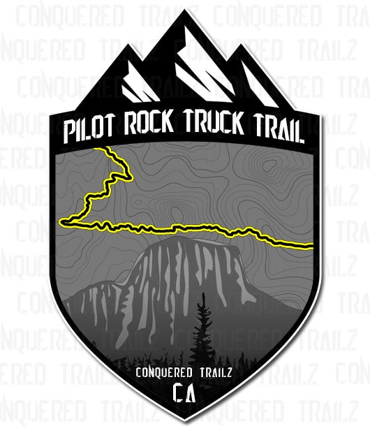 "Image of ""Pilot Rock Truck Trail"" Trail Badge"