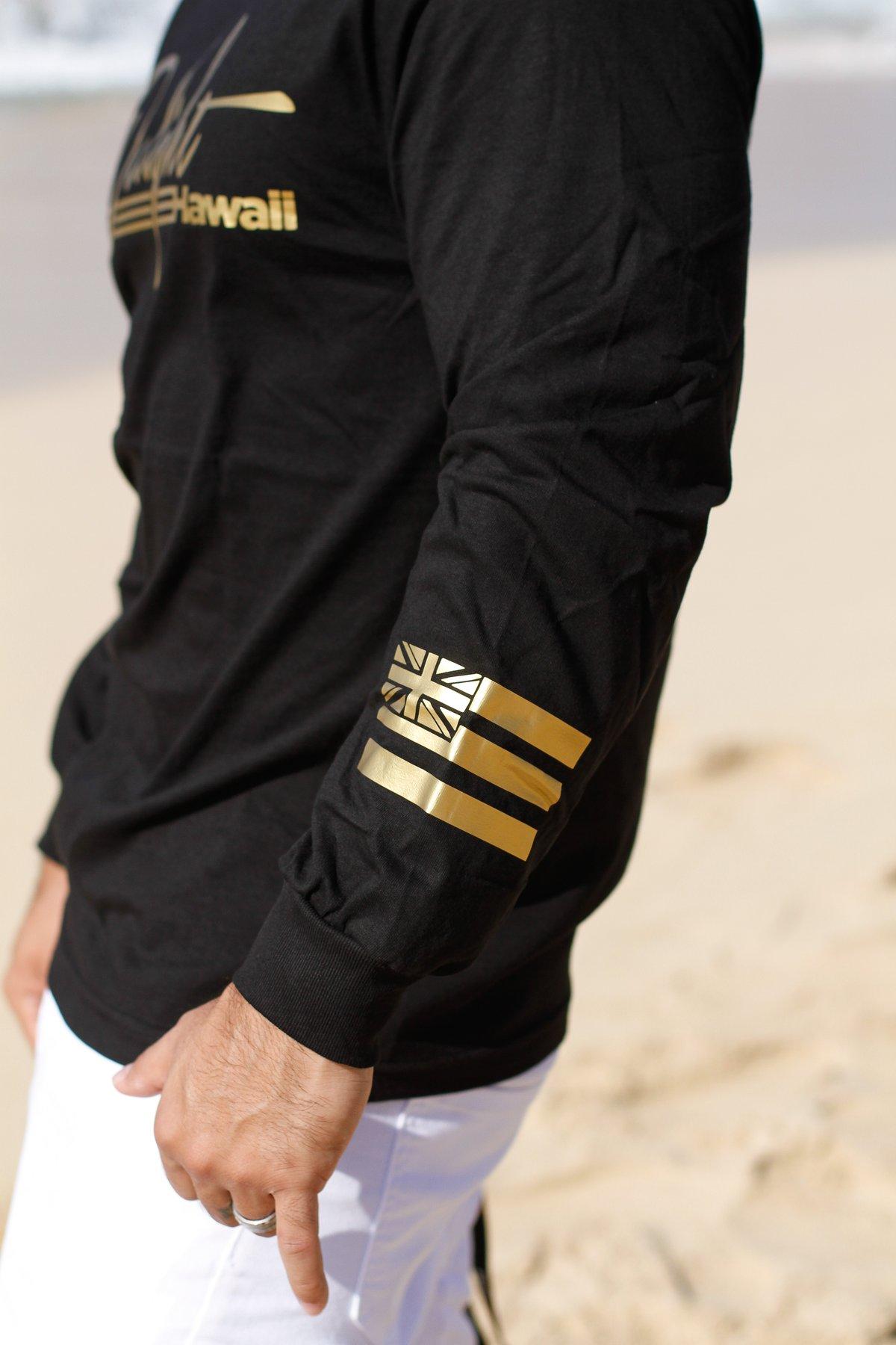 Delight Stripes Black/Gold Longsleeve