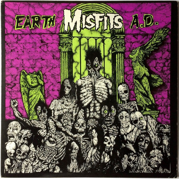 Image of Misfits - Earth A.D. / Wolfs Blood LP