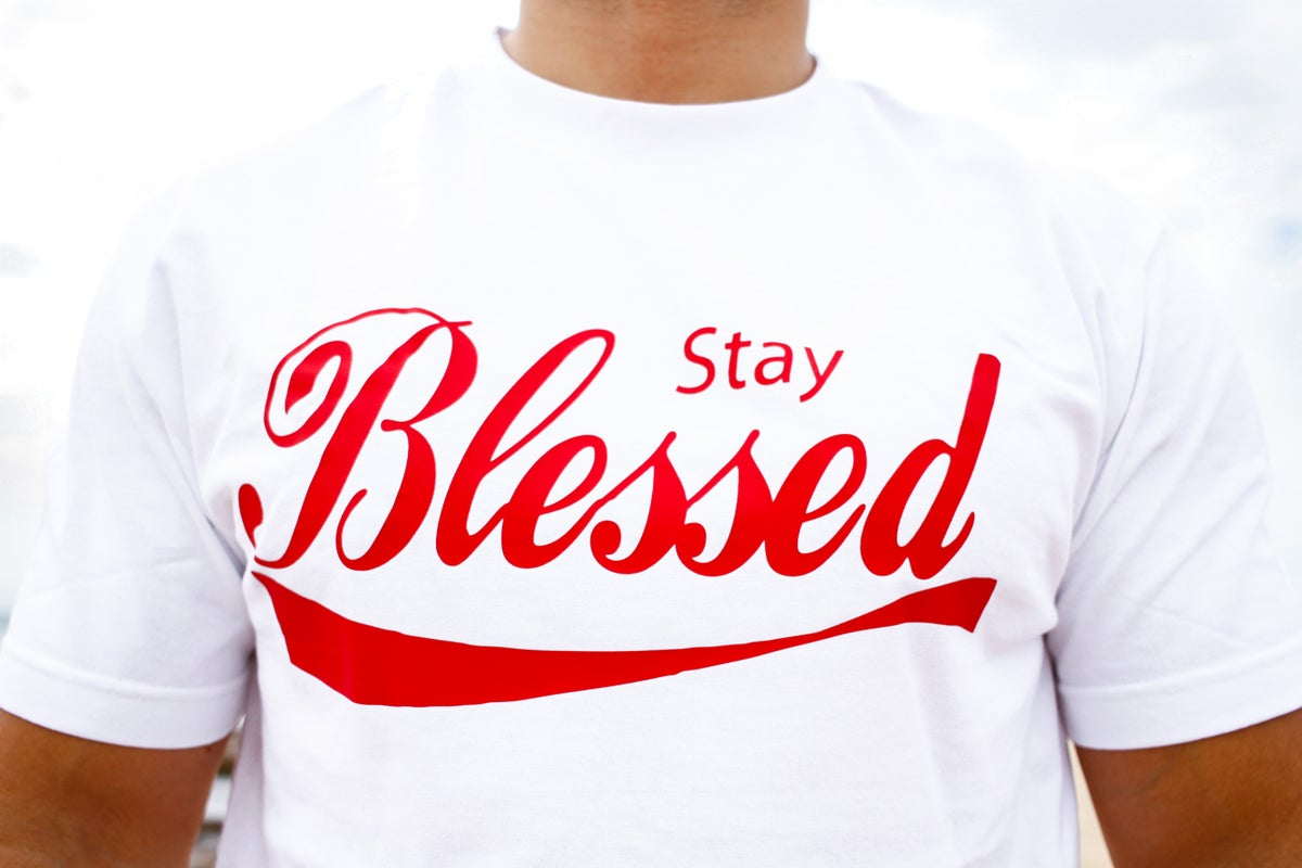 Stay Blessed (White/Red)