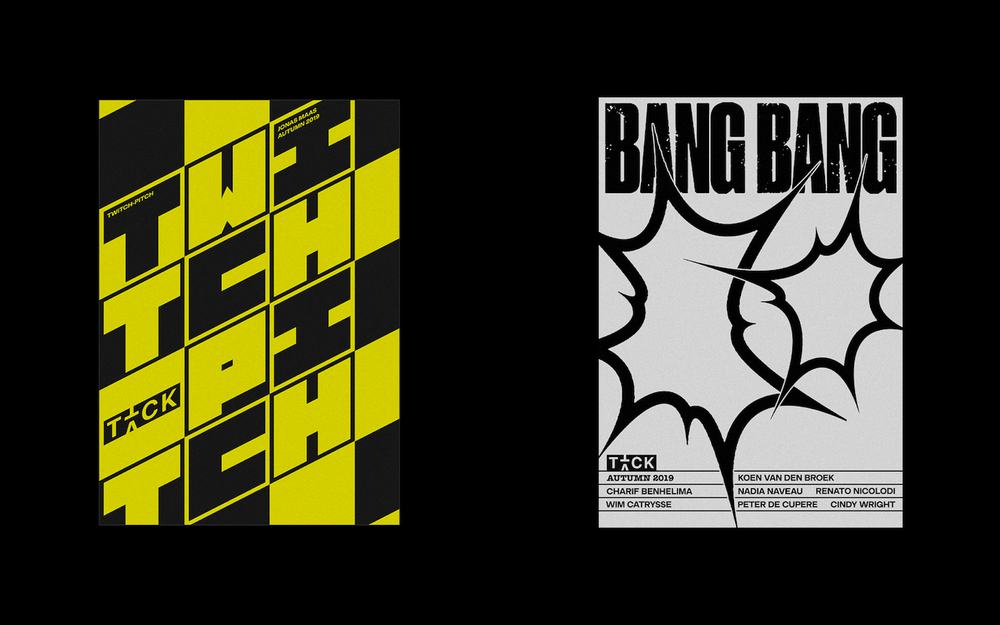Image of Twitch-Pitch and BANG BANG Exhibition Poster Screenprints
