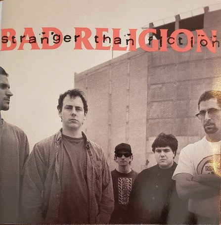 Image of Bad Religion - Stranger than Fiction LP