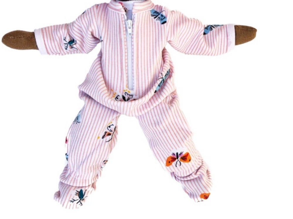 Babydoll butterfly onesie pajama 1pc (PLEASE NOTE: THIS ORDER WILL SHIP ON OR BEFORE NOV 30TH)