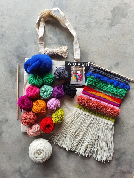 Image of Wool pack for Tapestry weaving