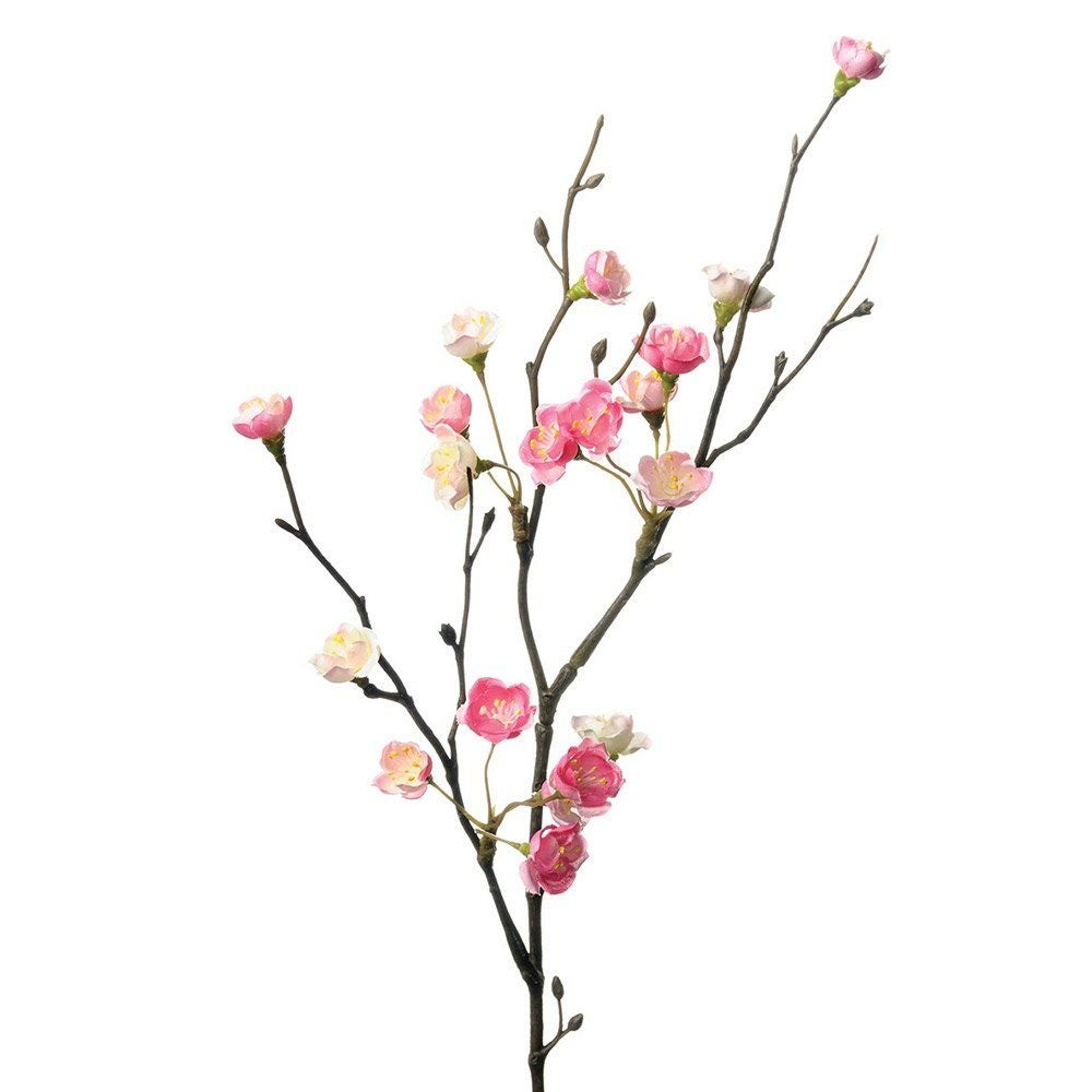 Image of Faux Pink Cherry Blossom Branch