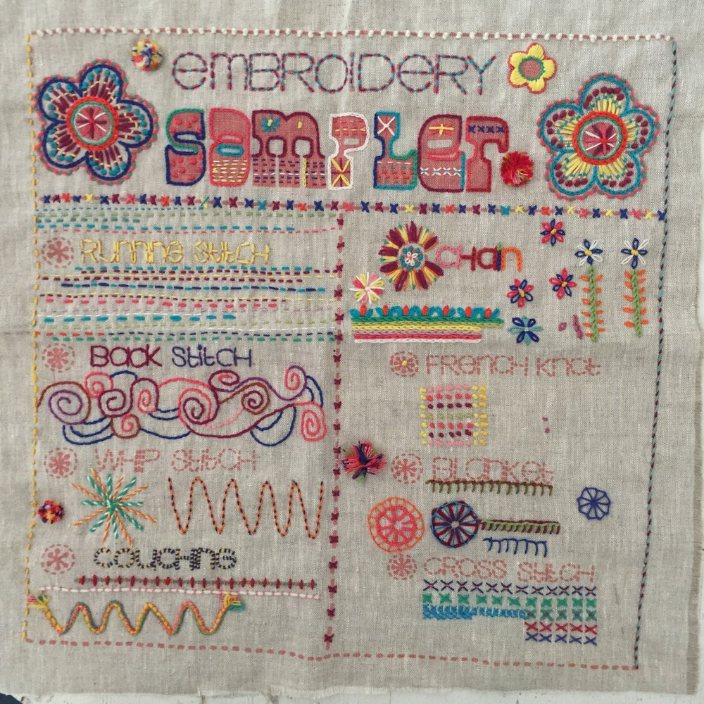 Image of The Embroidery ' Sampler'...
